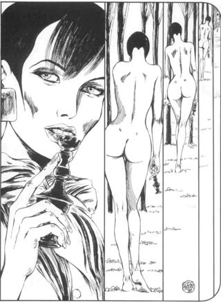 The Story of O 13 Checkmate by Guido Crepax