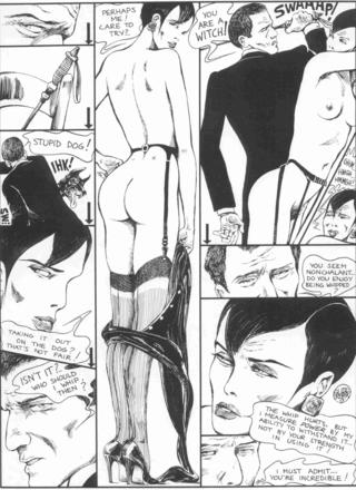 The Story of O 10 Dotty by Guido Crepax