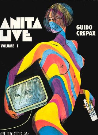 Anita Live 1 by Guido Crepax