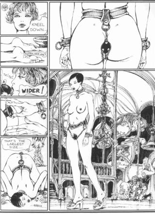 The Story of O 1 The Lovers of Roissy by Guido Crepax