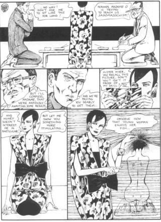 The Story of O 7 Madame O by Guido Crepax