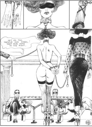 The Story of O 8 New Roissy by Guido Crepax
