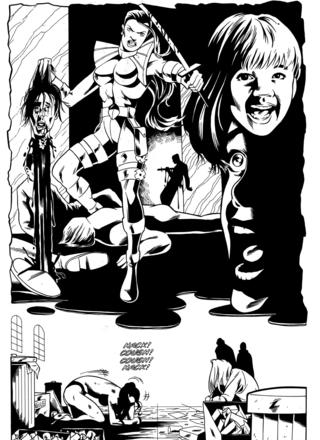 The Head Hunter in Baptism 2 by Gustavo Pabon, Adam Dekraker