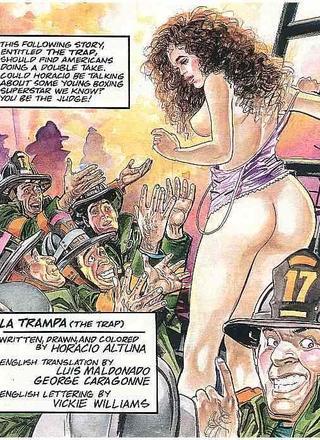 Trap by Horacio Altuna