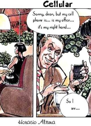 Cellular by Horacio Altuna