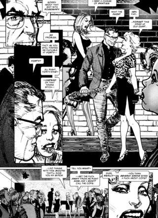 Black Kiss II 6 by Howard Chaykin