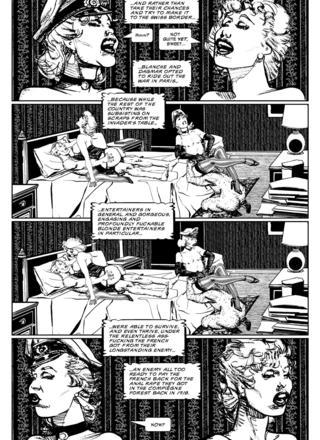 Black Kiss II 3 by Howard Chaykin