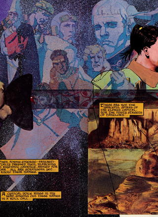 The Swords of Heaven the Flowers of Hell by Howard Chaykin