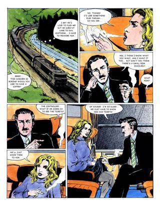 Night Train 1 by Hugdebert