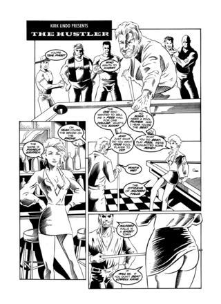 The Hustler by Jesse Dean Wright, Chuck Angel