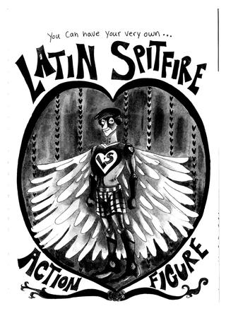 The Latin Spitfire by Jessica Fink