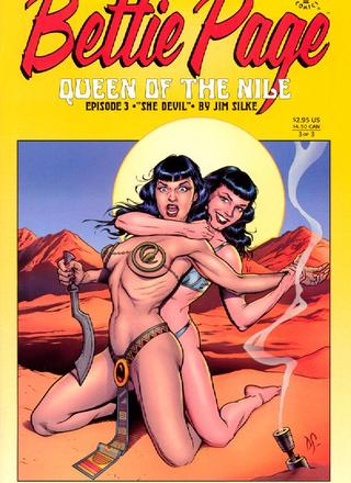 Queen Of The Nile 3 by Jim Silke