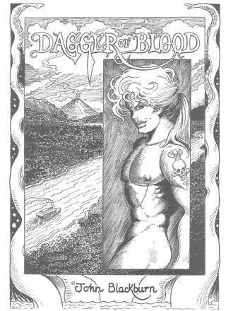 Dagger Of Blood 1 by John Blackburn