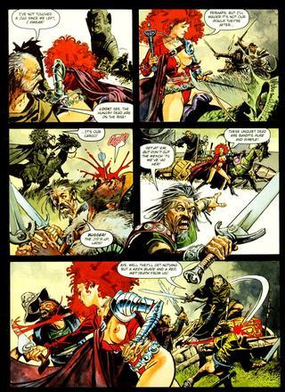 Deadlier than the Male by John Burns, Ian Edgington
