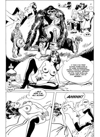 Cicca Dum Dum A Few More Fantasies by Jordi Bernet, Carlos Trillo