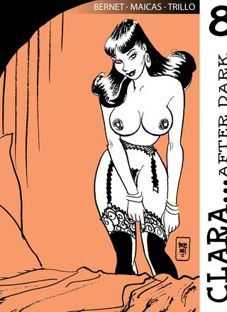 Clara after Dark 8 by Jordi Bernet, Carlos Trillo