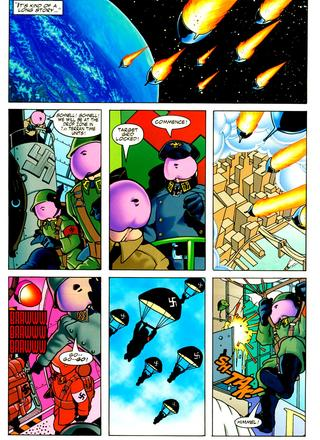 Miss Adventure 3 Nazi Penises From Outer Space by Keith Giffen, Cary Polkovitz