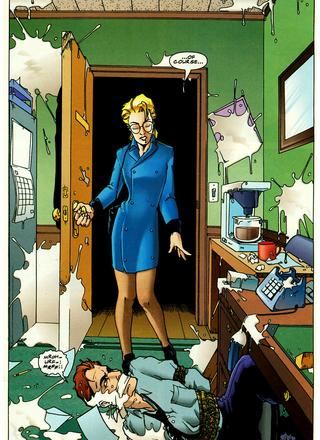 Miss Adventure 1 And Men Shall Call Him The Ejaculator by Keith Giffen, Cary Polkovitz