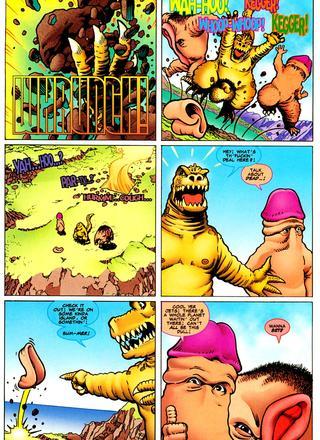 Herricane 1 Rude Awakening by Keith Giffen