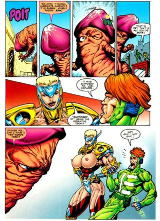 Herricane 3 Carnal Calamity by Keith Giffen