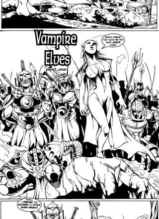 Vampire Elves 1 by Kent Lane, Jean-Paul Deshong