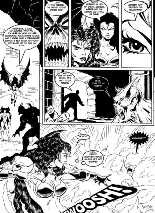 Luxura in Hell on Earth by Kirk Lindo
