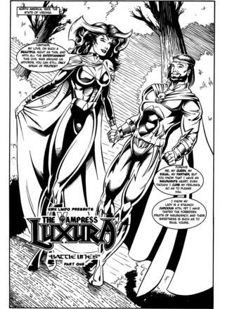 Luxura Battle Unes 1 by Kirk Lindo