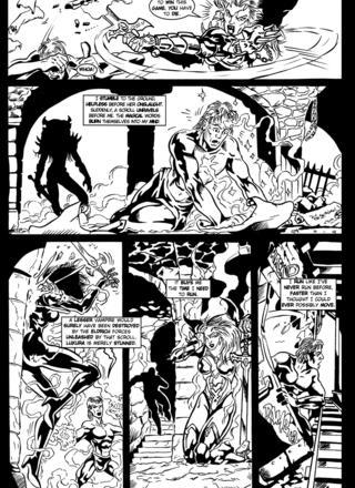 Luxura in Blood Run by Kirk Lindo