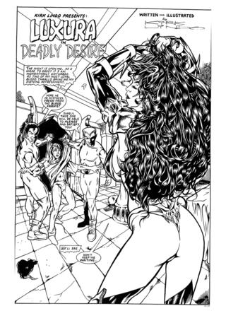 Luxura in Deadly Desire by Kirk Lindo