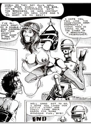 Betty The Bondage Girl and Binder by Lee