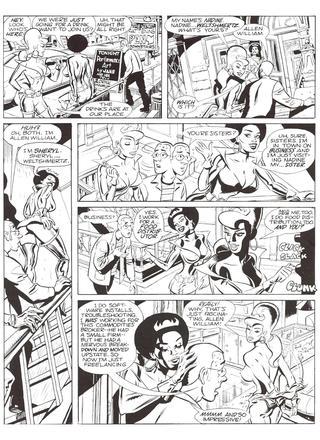 Space Chics and Businessmen 1 by Link Yaco, John Heebink