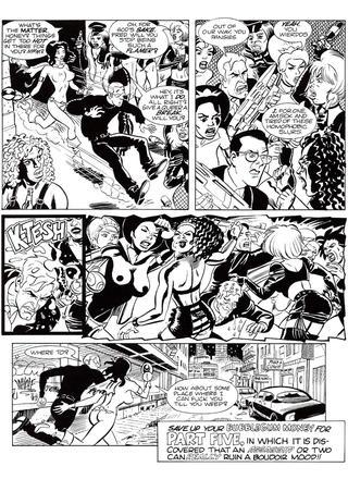 Space Chics and Businessmen 4 by Link Yaco, John Heebink