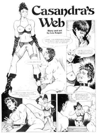 Cassandra's Web by Lou Kagan