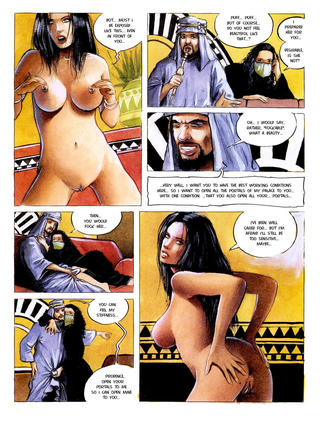 Sexual Hostage in the Desert by Lubrix