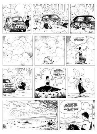 Dies Irae by Milo Manara