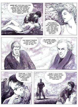 The Urban Adventures of Giuseppe Bergman To See the Stars by Milo Manara