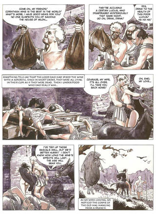 The Golden Ass by Milo Manara