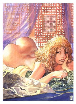 Aphrodite 1 by Milo Manara