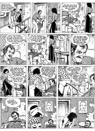 An Author in Search of Six Characters by Milo Manara