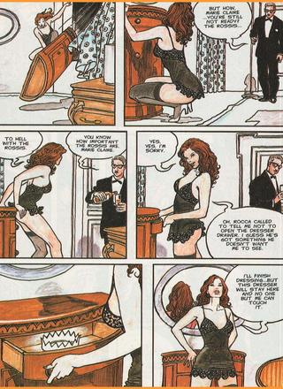 Marie Claire by Milo Manara