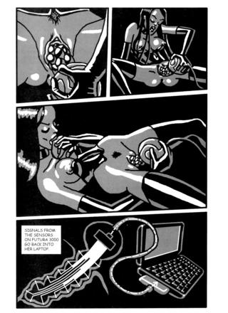 Futurama 3000 by Motohiko Tokuta