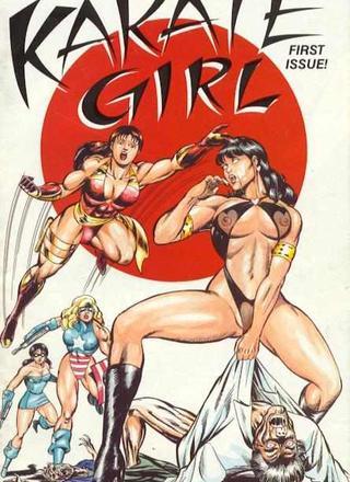 Karate Girl 1 by Motoki