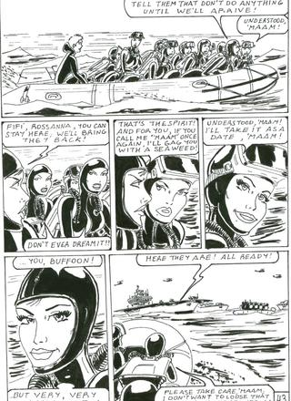 Gwendoline And The Submarine Complot by Osvaldo Greco