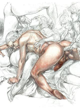 Druuna X 2 by Paolo Eleuteri Serpieri