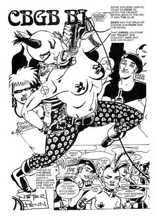 CBGB BJ by Peter Penn