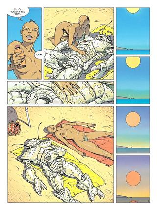Picnic at Arcturus Beach by Philippe Caza