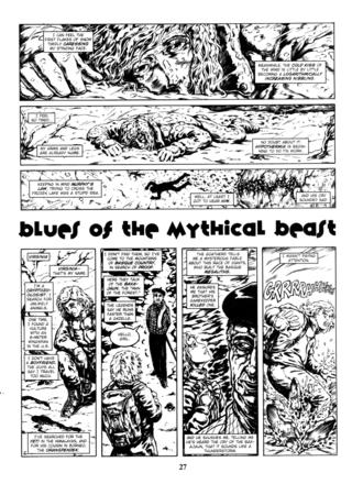 Blues of the Mythical Beast by Raulo