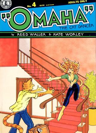 Omaha The Cat Dancer 4 by Reed Waller