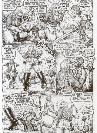 Mystic Funnies 2 by Robert Crumb