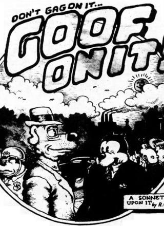 Goof On It by Robert Crumb